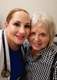 Dr. Coimbra & Patient